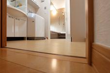 トイレ+スライドドア