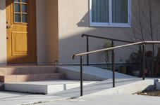 玄関+スロープ